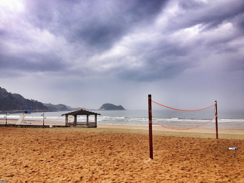 zarautz playa