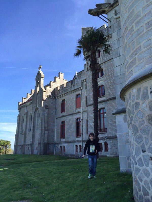 chateau d'abbadie hendaya Abadia