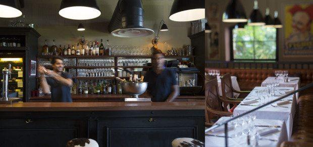 bar and restaurant
