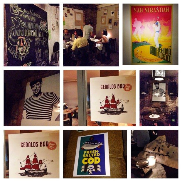 Geralds Bar Donostia Geralds Bar donostia san sebastian sisters and the city