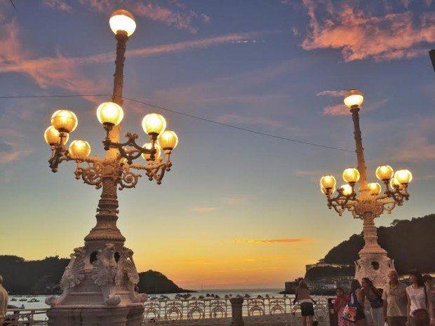 San Sebastian Donostia sisters and the city