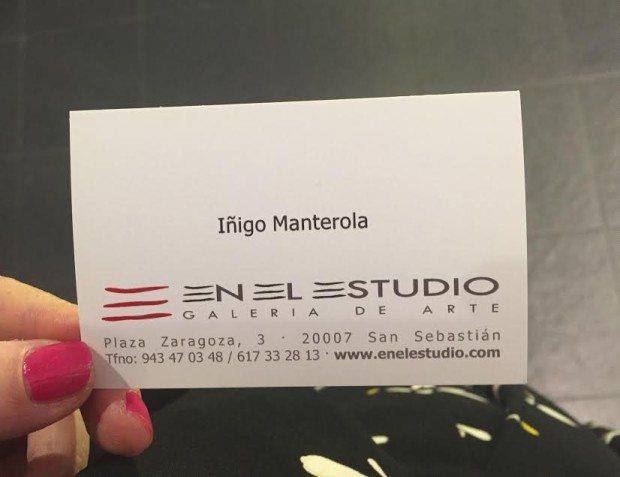 Iñigo Manterola en el estudio sisters and the city