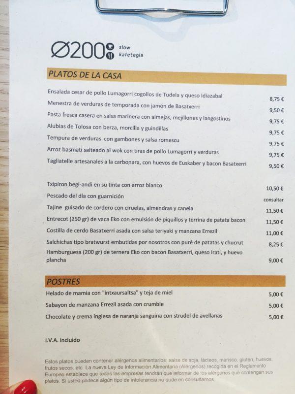 Diametro 200 Restaurante Ecológico, Producto Ecológico Elaboración Artesanal