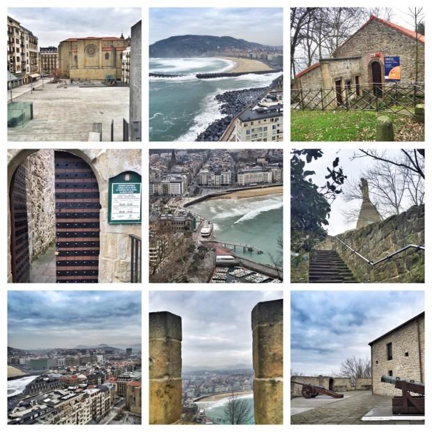 Donostia San Sebastian Basque Country Urgull Cementerio de los ingleses, Best views of San Sebastian
