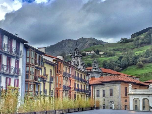 Tolosa Sisters and the city GIpuzkoa Guipuzcoa