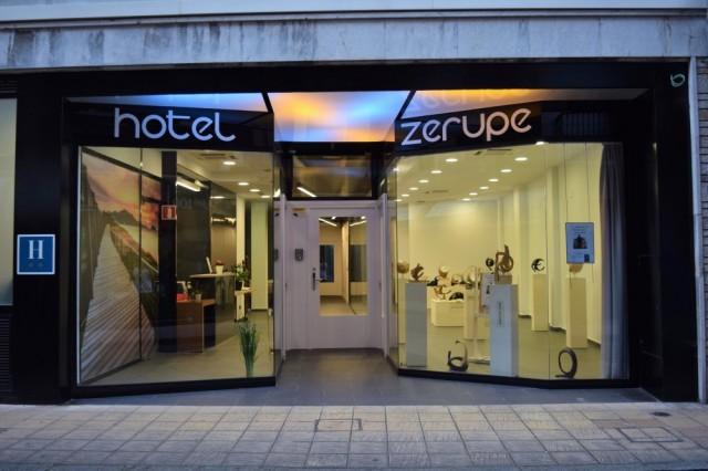 Hotel Zerupe Zarautz Dormir where to sleep in Zarautz