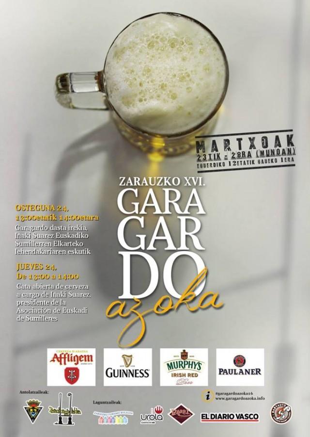 Garagardoazoka feria de la cerveza Zarautz