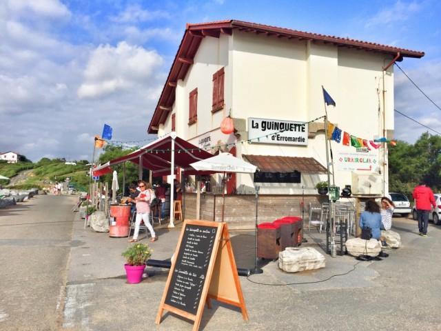 Guinguette Erromardie France Iparralde Côte Basque San Juan de Luz Saint Jean de luz
