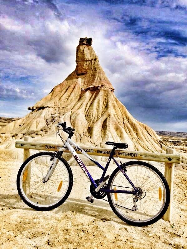 Tudela Navarra Bardenas Reales Bici Mountain Bike Verduras
