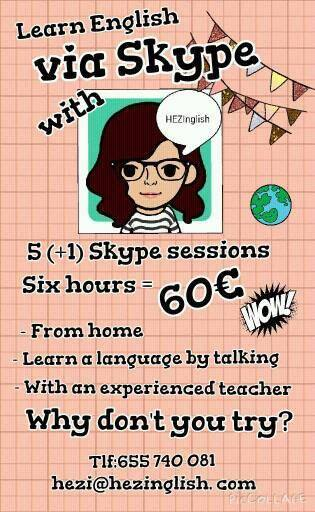 HEZInglish Inglés via Skype