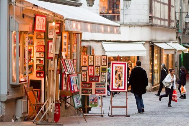 Rue Argenterie Boutique de cadres