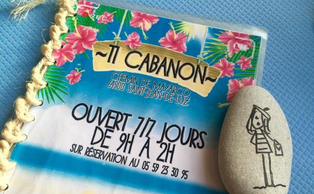 Ti Cabanon restaurant chiringuito Mayarco Acotz Saint Jean de LUZ