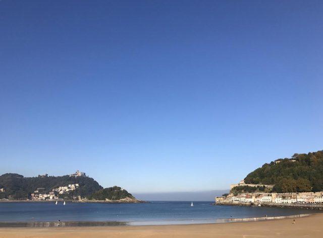 la concha playa san sebastian donostia