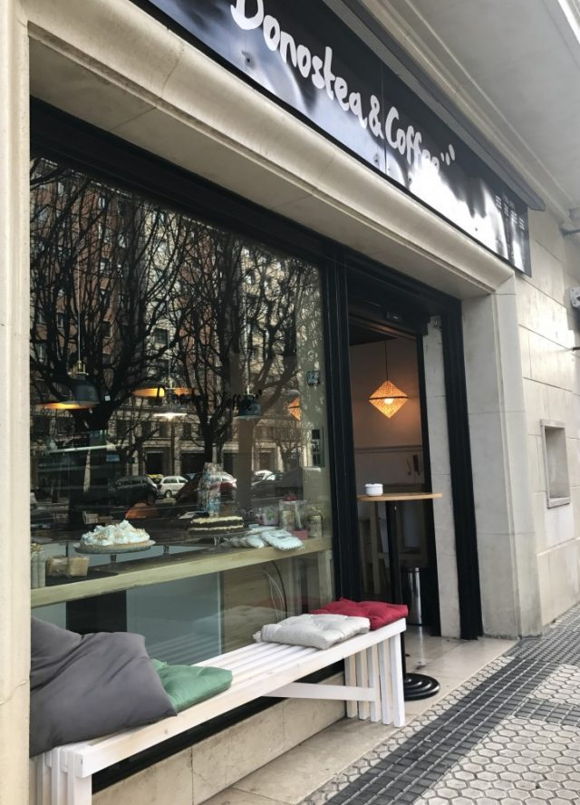 Donostea & Coffee san sebastian donostia cafeteria
