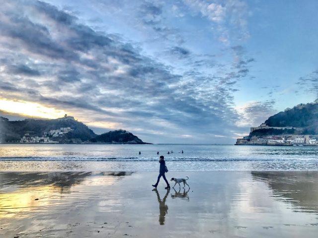 playa de la concha san sebastian donostia