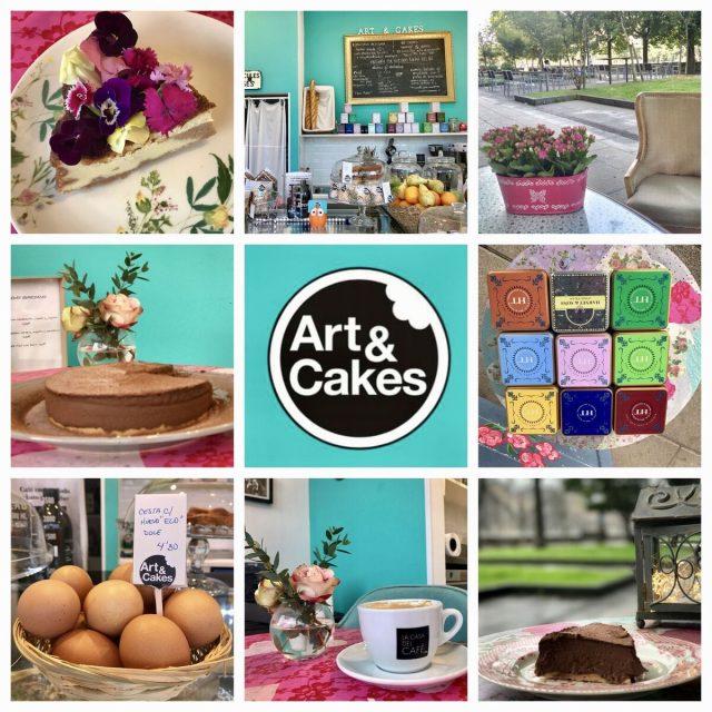 Art & Cakes cafeteria san sebastian donostia