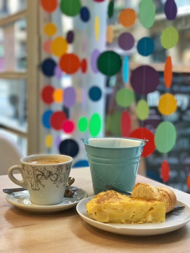 la casita de caramelo desayunar en San Sebastian Donostia sisterproductos breakfast in the city