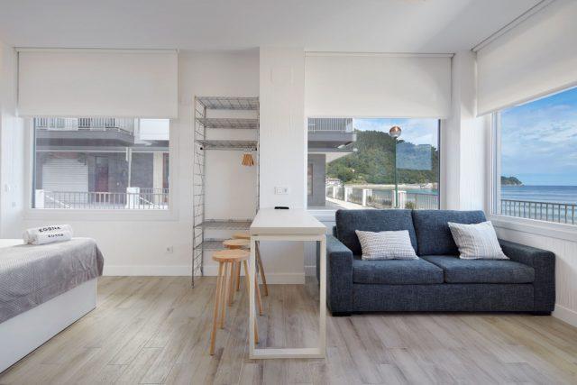 Apartamentos egona con vistas al mar en zarautz sisters and the city - Apartamentos en zarauz ...