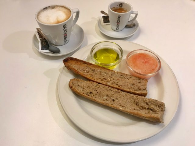 desayunar en donostia san sebastian regatta bar