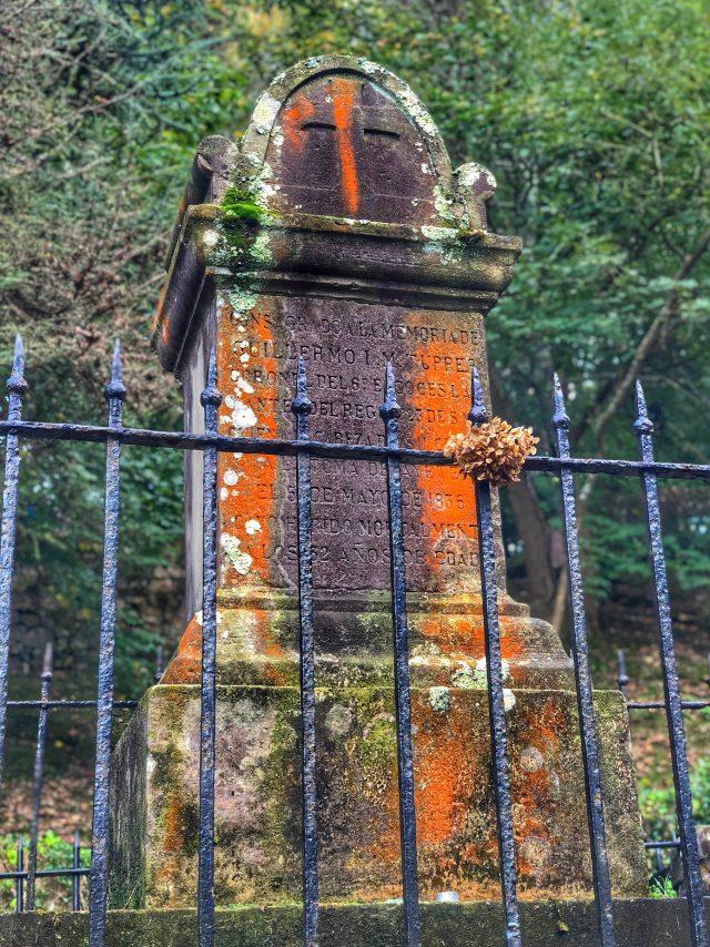 Cementerio de os ingleses Monte URGULL Donostia San SEbastián