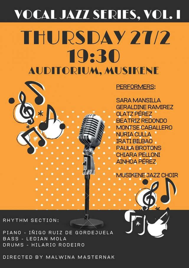 Vocal Jazz Series, Vol. I