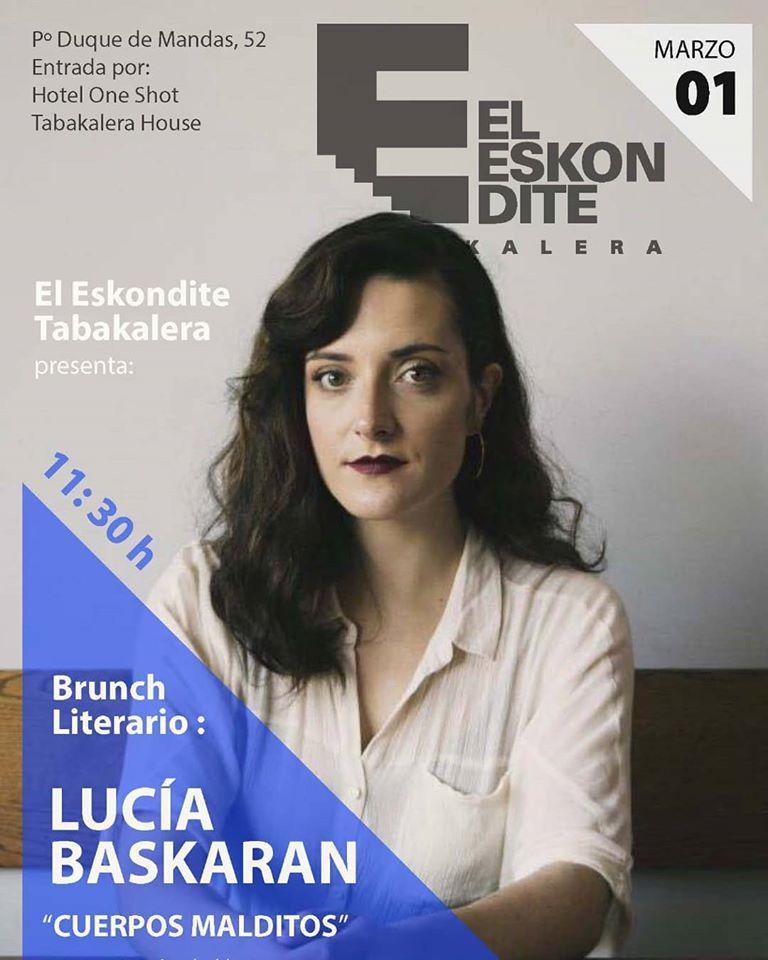 Brunch Literario: Lucía Baskaran