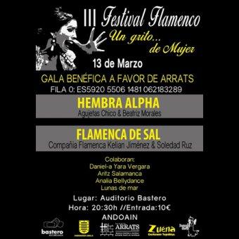 """Festival Flamenco """"Un grito de mujer"""