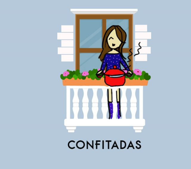 sisters and the city confitadas