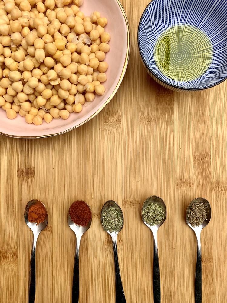 sistersandthecity-recetas-saludables-GARBANZOS-ESPECIADOS-RECETAS