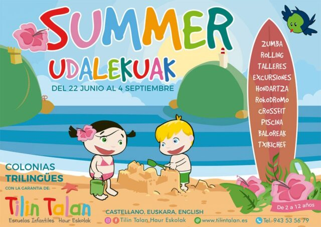SUMMER-UDALEKUAK-TILIN-TALAN