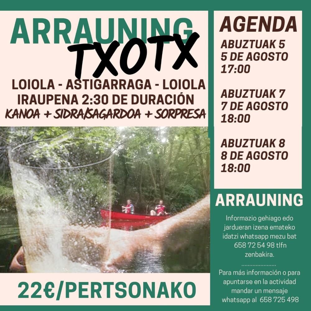 arrauning-txotx
