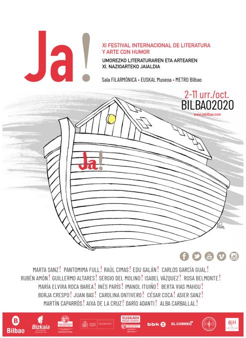 JA! BILBAO 2020 - FESTIVAL INTERNACIONAL DE LITERATURA Y ARTE CON HUMOR