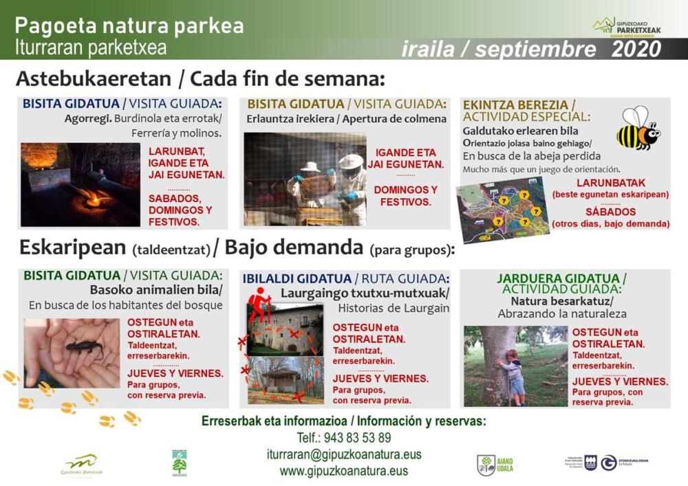 septiembre-actividades-iturarran-pagoeta