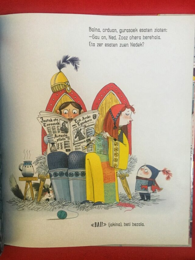 ez-esan-zuen-zalduna-libro-kids