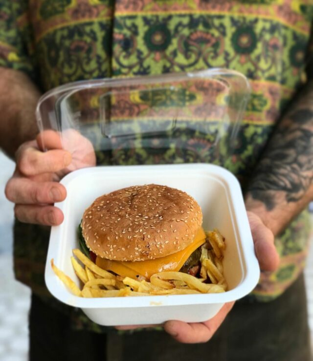 Xiri hamburguesa