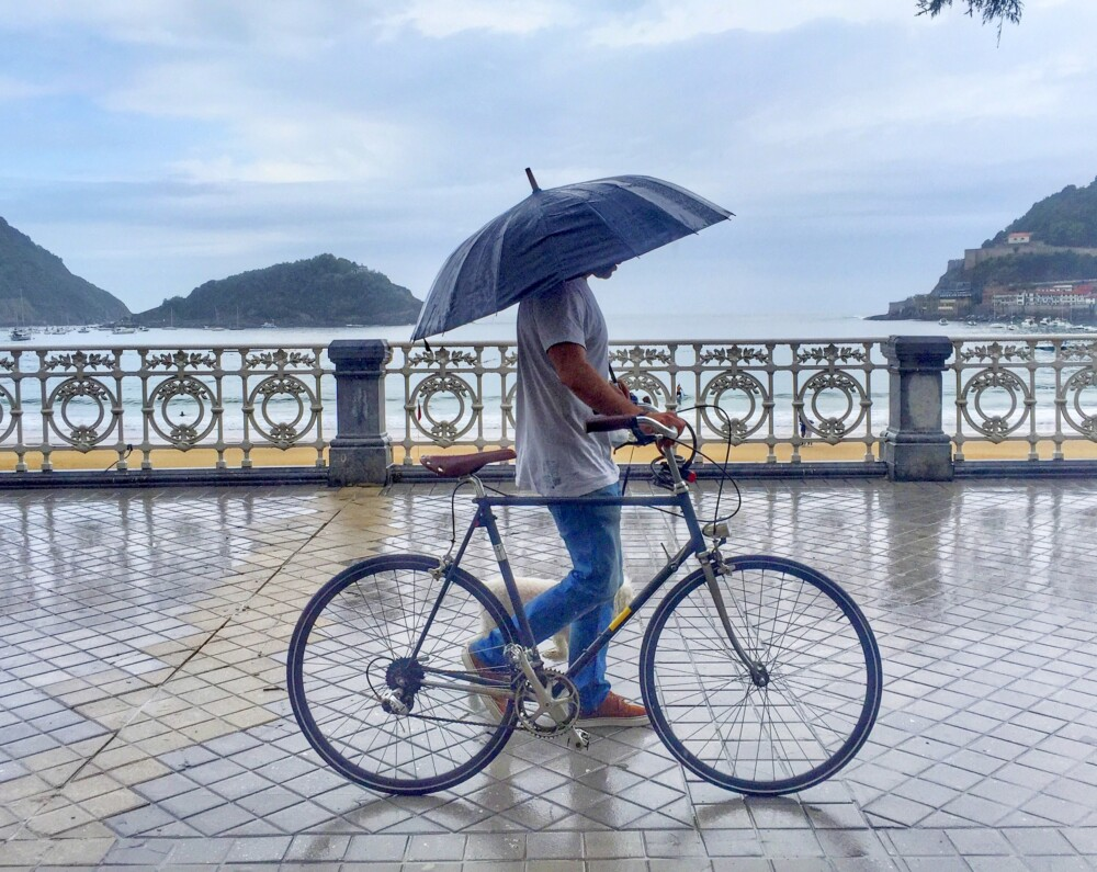 Donostia lluvia