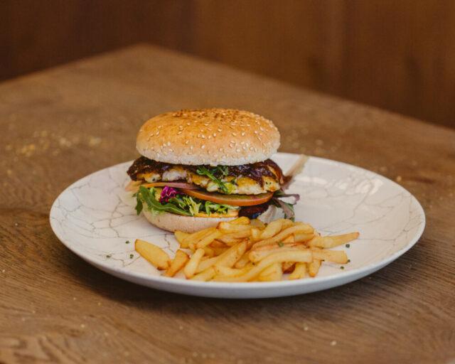 Xiri hamburguesa merluza