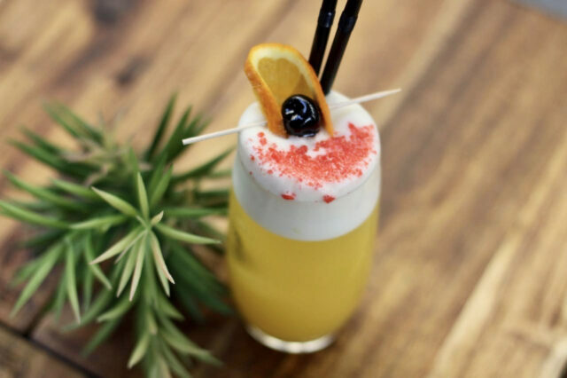 Polka cocktail