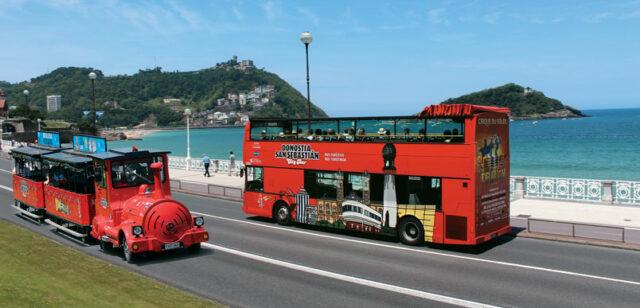 Bus turístico San Sebastián